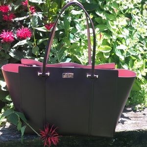 Beautiful Plum Kate Spade Tote